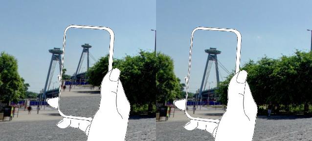 regular camera vs. real View