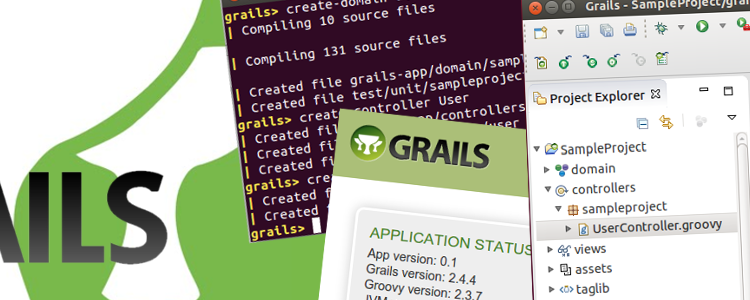 Grails – Groovy On Rails first project