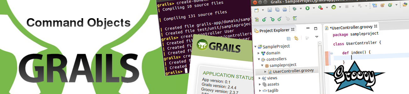 Start using Command Objects in Grails